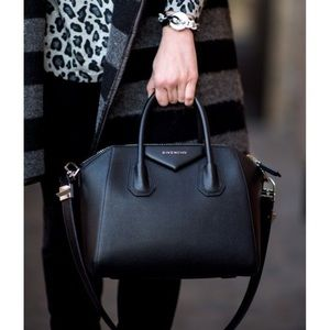 Givenchy Small Black Antigona Bag
